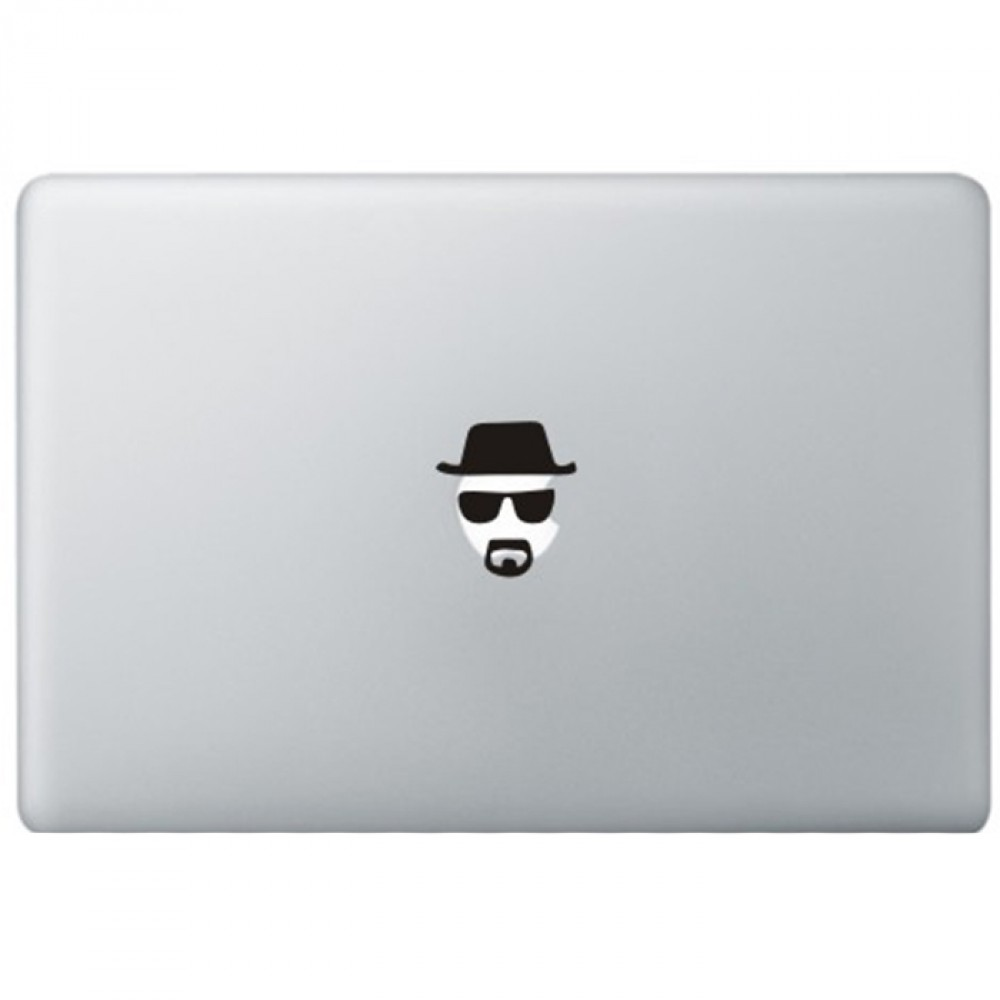 Breaking Bad Heisenberg MacBook Decal | KongDecals