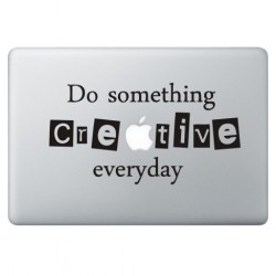 Creative Macbook Decal