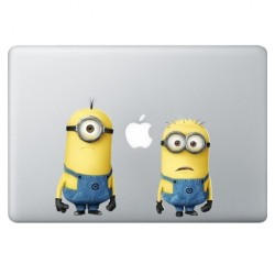 Despicable Me: Minions (2) MacBook Decal
