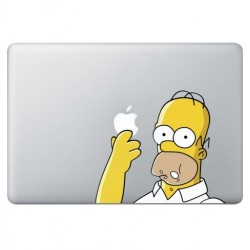Homer Simpsons (2) Macbook Decal