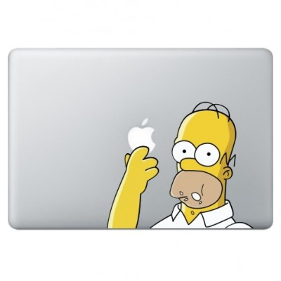 Homer Simpsons (2) Macbook Decal Full Colour Decals