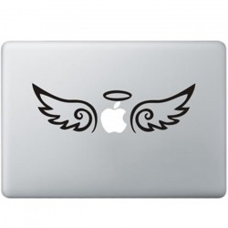 Angel Macbook Decal