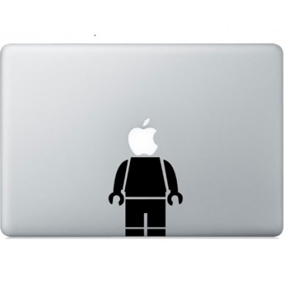 Lego man Macbook Decal