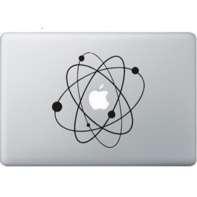 Atoms (2) MacBook Decal