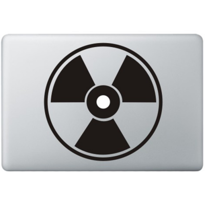 Nuclear hazard Macbook Decal