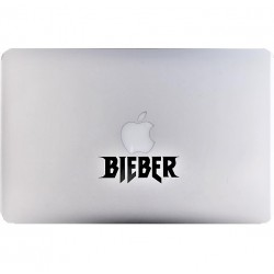 Bieber Macbook Decal
