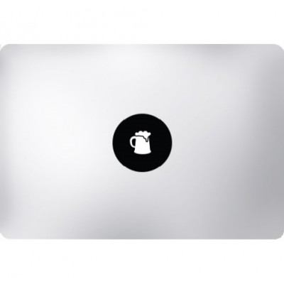 Beer Mug MacBook Decal