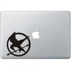 The Hunger Games Macbook Decal