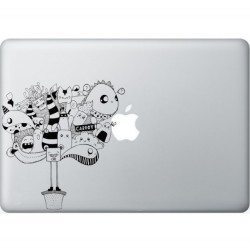 Carrot Macbook Decal