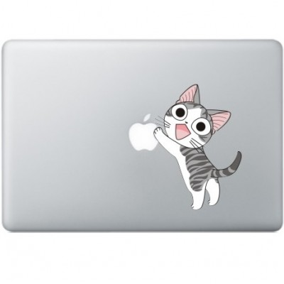 Happy Cat MacBook Decal