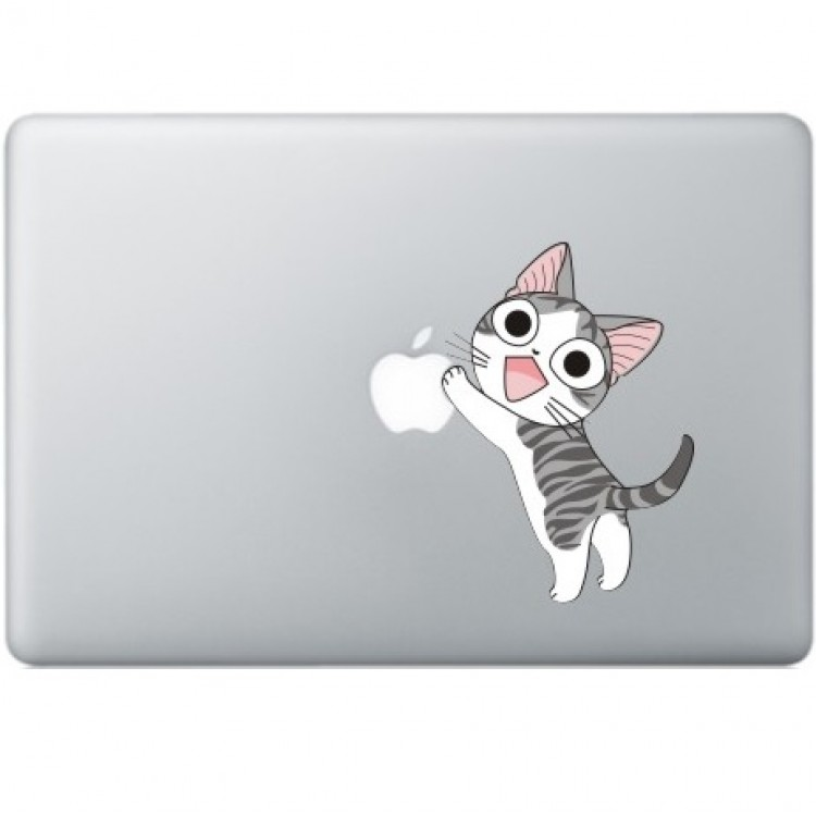 Happy Cat MacBook Decal Full Colour Decals