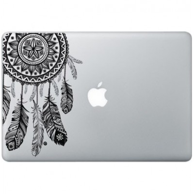 Dreamcatcher Macbook Decal Black Decals