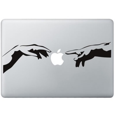The Creation Of Adam MacBook Decal