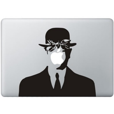 Magritte MacBook Decal