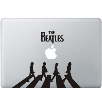 The Beatles MacBook Decal