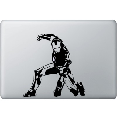 Iron Man (2) MacBook Decal