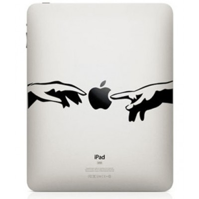Creation of Adam iPad Decal
