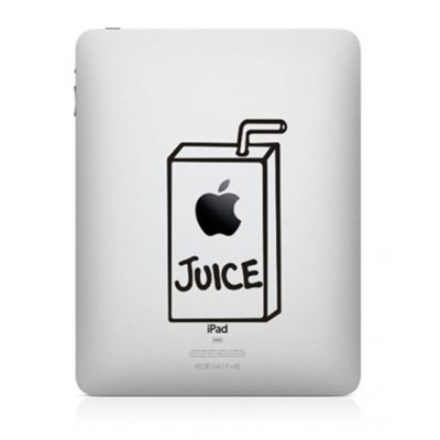 Apple Juice iPad Decal iPad Decals