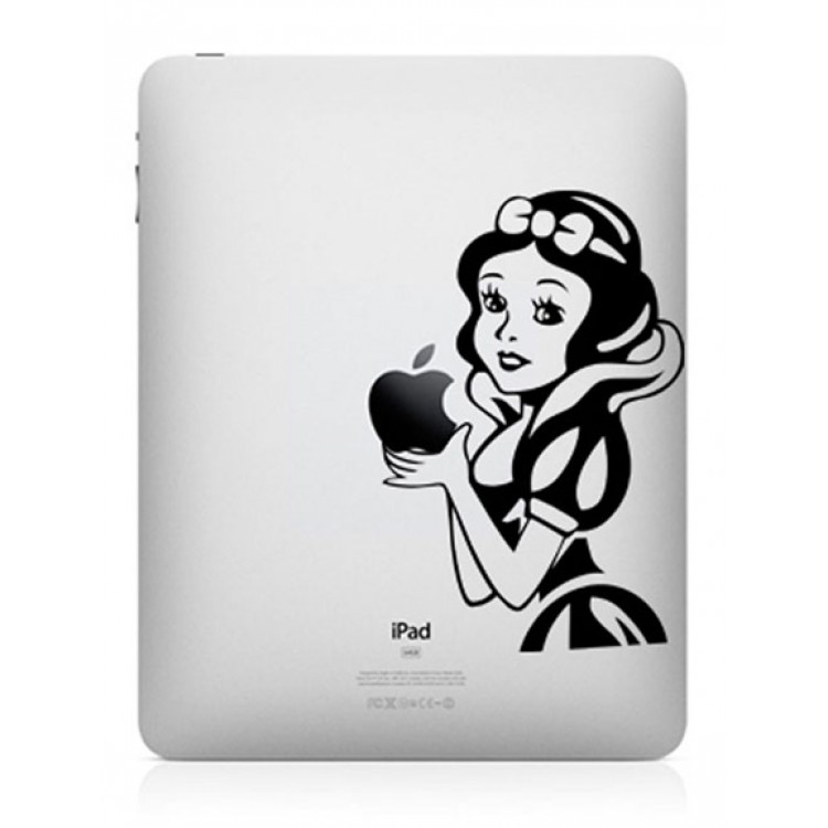 Snow White (2) iPad Decal iPad Decals