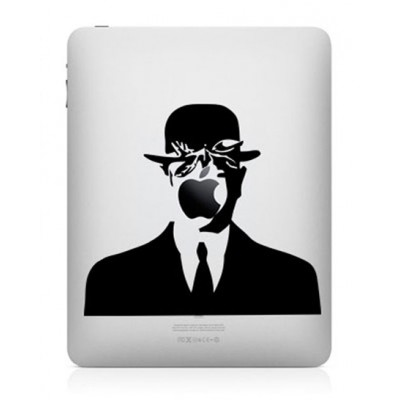 Magritte iPad Decal