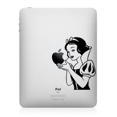 Snow White iPad Decal