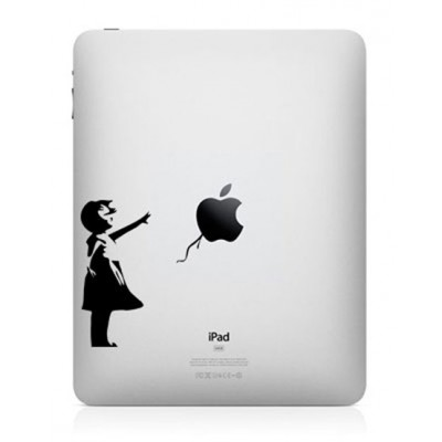 Bansky Girl iPad Decal iPad Decals