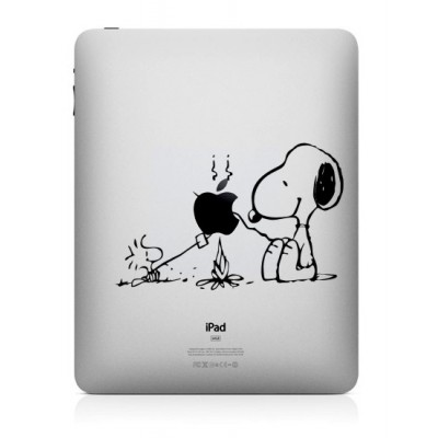 Snoopy (2) iPad Decal
