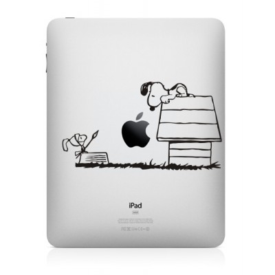 Snoopy (3) iPad Decal iPad Decals