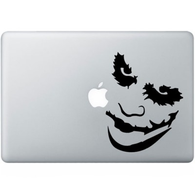 Batman Joker (2) MacBook Decal Black Decals