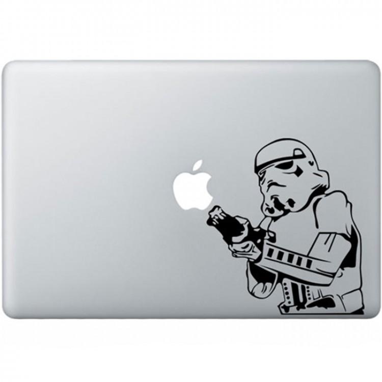 Stormtrooper MacBook Decal Black Decals