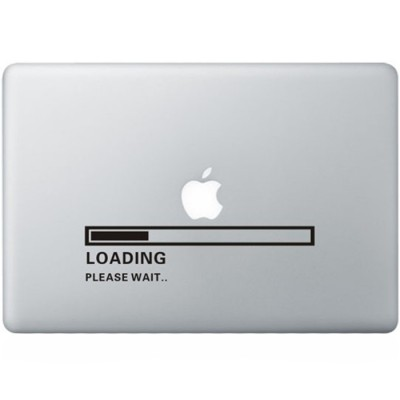 Apple Loading MacBook Decal
