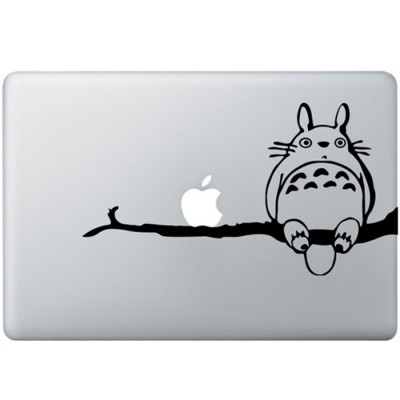 Totoro On Tree MacBook Decal
