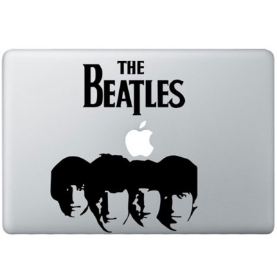 The Beatles (2) MacBook Decal Black Decals