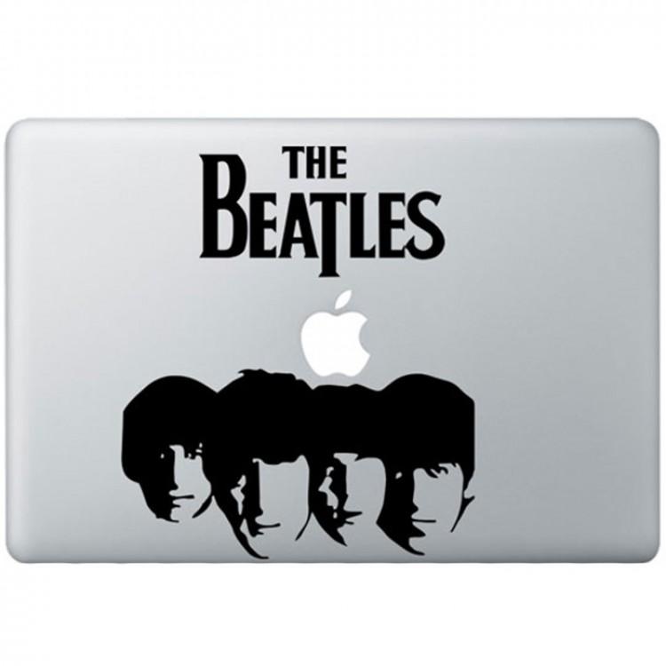 The Beatles (2) MacBook Decal Black Decals