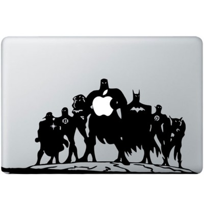 Justice League MacBook Decal