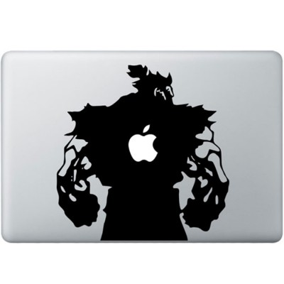 Streetfighter Akuma MacBook Decal
