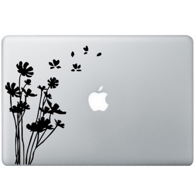 Flowers MacBook Decal