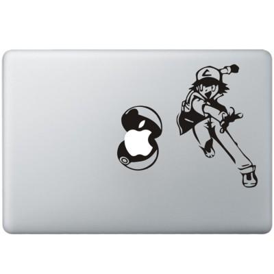 Pokemon MacBook Decal Black Decals