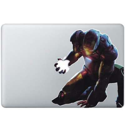 Iron Man (2) Colour MacBook Decal