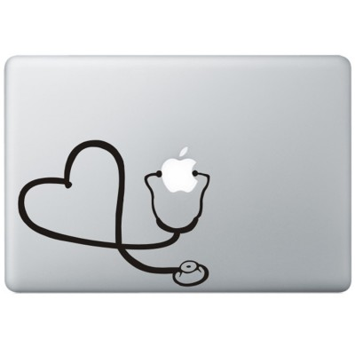 Dr. Apple MacBook Decal