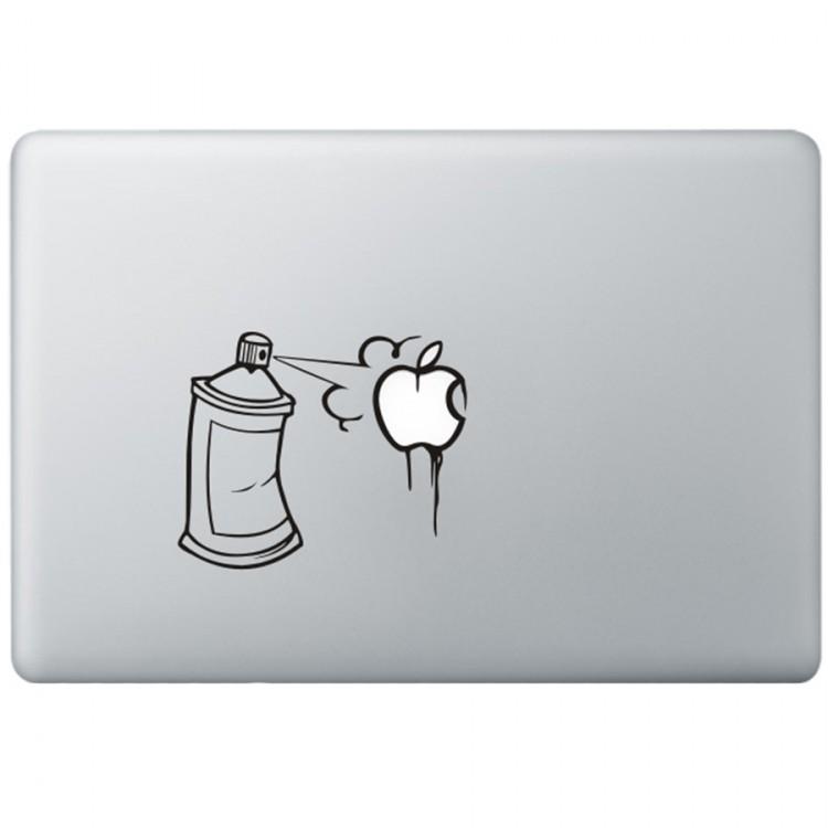 Graffiti MacBook Decal Black Decals