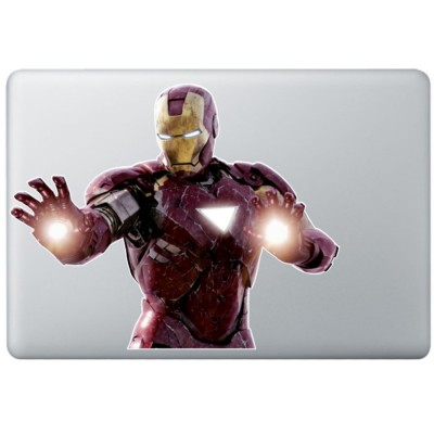 Iron Man (4) Kleur MacBook Decal