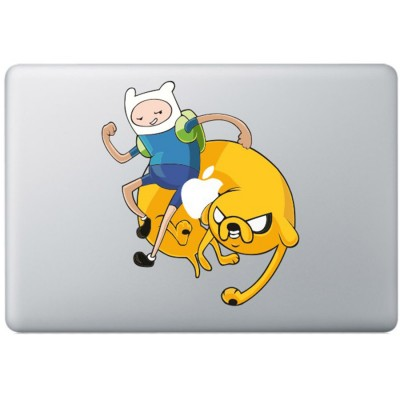 Adventure Time Color MacBook Decal