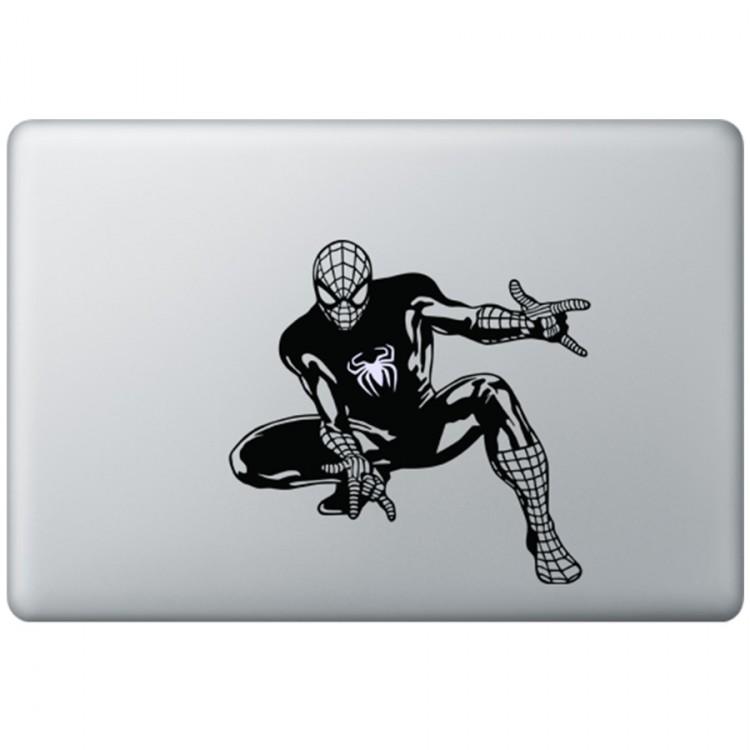 Spiderman MacBook Decal Black Decals