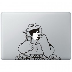Cookie Monster (2) MacBook Decal