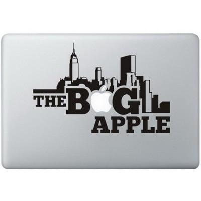 The Big Apple MacBook Decal Black Decals
