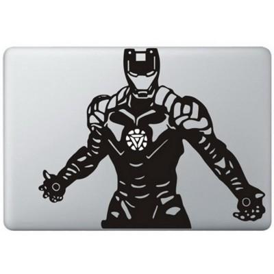 Iron Man (4) MacBook Decal Black Decals