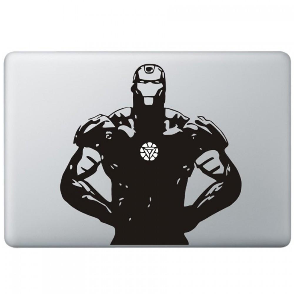 Iron man 5 macbook decal black decals
