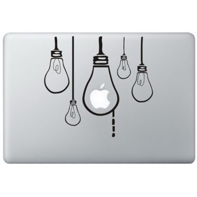 Hanging Lamps MacBook Decal