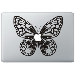Butterfly Macbook Decal